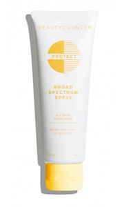 Beauty Counter food allergy friendly sunscreen