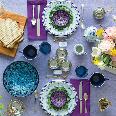 food allergy friendly seder table