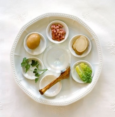food allergy friendly passover seder plate