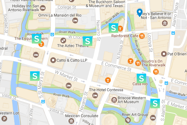 San Antonio Food Allergy Friendly Map