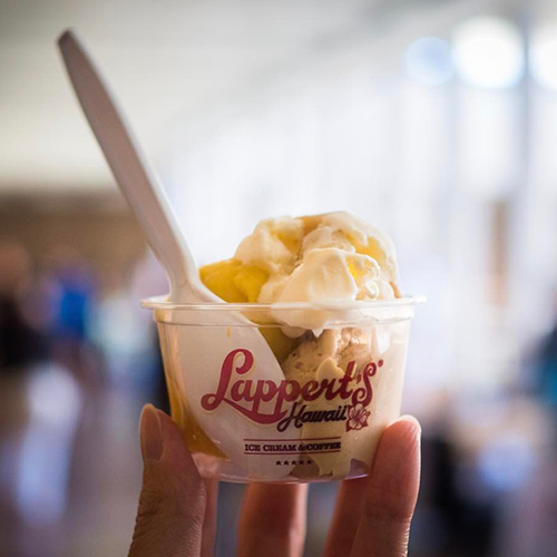 Lappert's Hawaii food allergy friendly ice cream Honolulu
