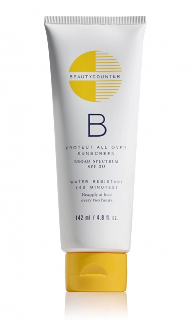 Beauty Counter Broad Spectrum SPF 30 allergy friendly sunscreen