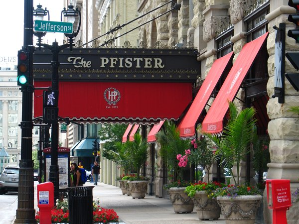 PHOTO CREDIT: JOHN ZACHERLE /  Milwaukee City Guide The Pfister