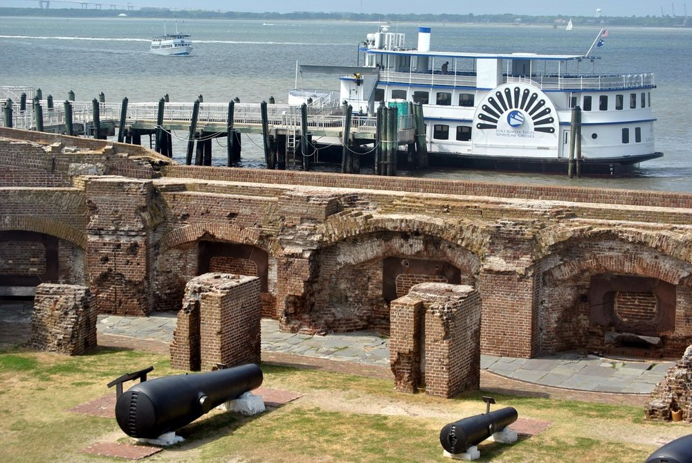 Charleston City Guide Fort Sumter
