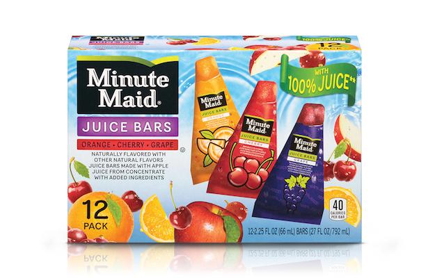minute maid food allergy juice bars