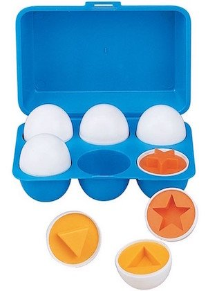 food allergy friendly egg shape sorter