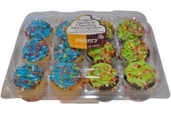The Bakery Mini Cupcakes