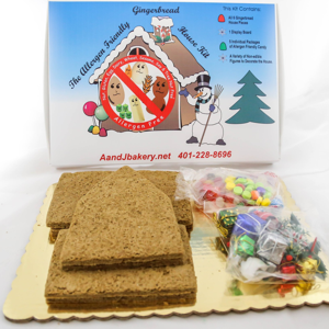 A & J Bakery Gingerbread House.png