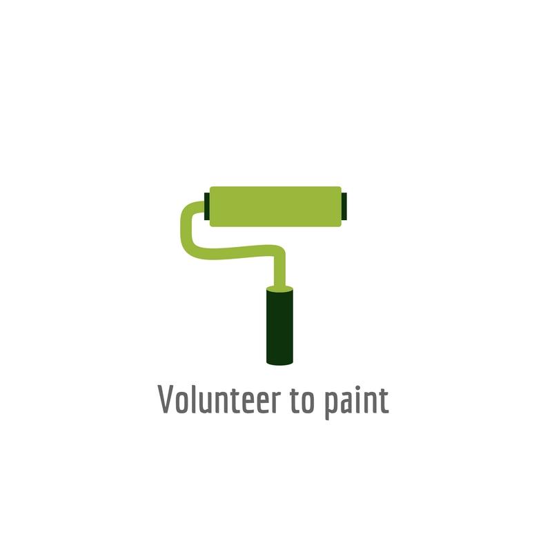 Volunteer to paint