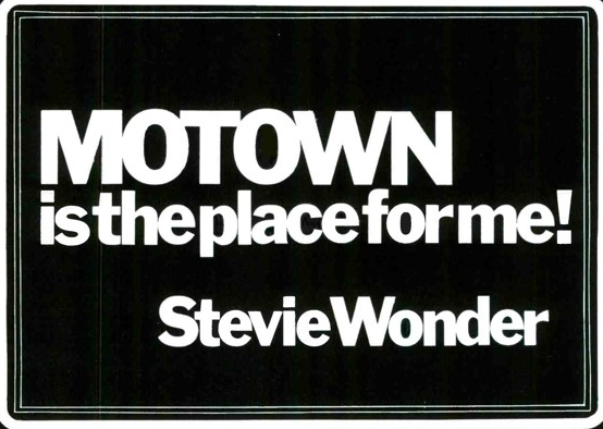 Trade press advertisement after Stevie re-signed to Motown in July 1971