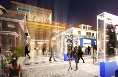 """A """"conceptual rendering"""" of the upgraded museum"""