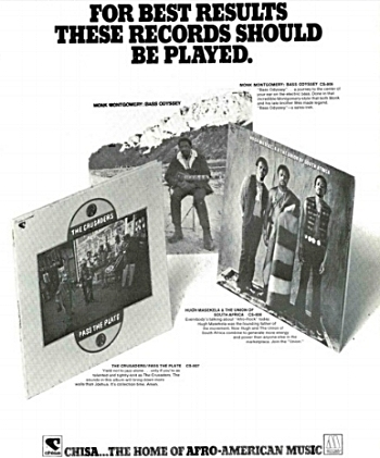 A 1971 trade press ad for the latest Chisa albums