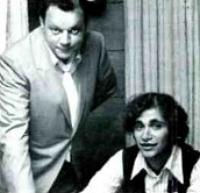 Stewart Levine (r) with Motown's Phil Jones, 1969