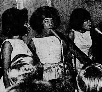 Marlene, Mary, Diana (photo: Fred Plofchan, Detroit Free Press)
