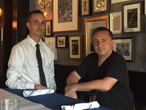 Mike Crownover and David Baruthio plan to open Saison in the former site of Mustard's BBQ in Windsor Heights.