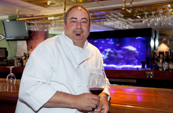 "Dominic Ianarelli, Executive Chef at Splash Seafood Bar and Grill. The success of this enduring venue? The focused attention on fresh seafood. ""We will not get distracted."""