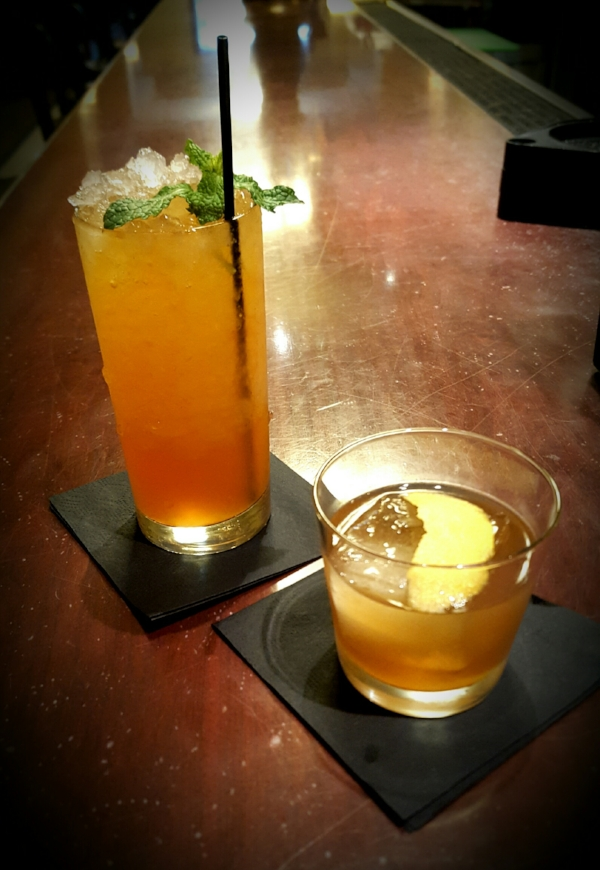 The Ultra Birit (left) and the Gunville Club (right). Both drinks will be served at Django starting September 19.