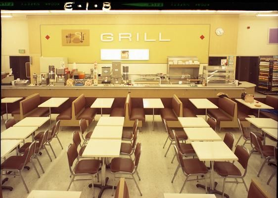 The K-Mart Grill. The Younker's Tea Room it is not, but I'm sure Cindy, Kirsten, and I killed plenty of time here that spring day in 1974—and had a fine old time doing so.