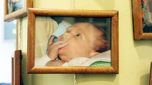 Katya's baby Veronika