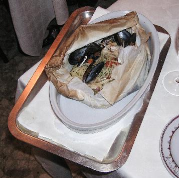 Spaghetti in Cartoccio