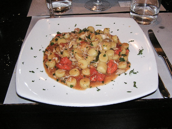 Gnocchi with Granceole