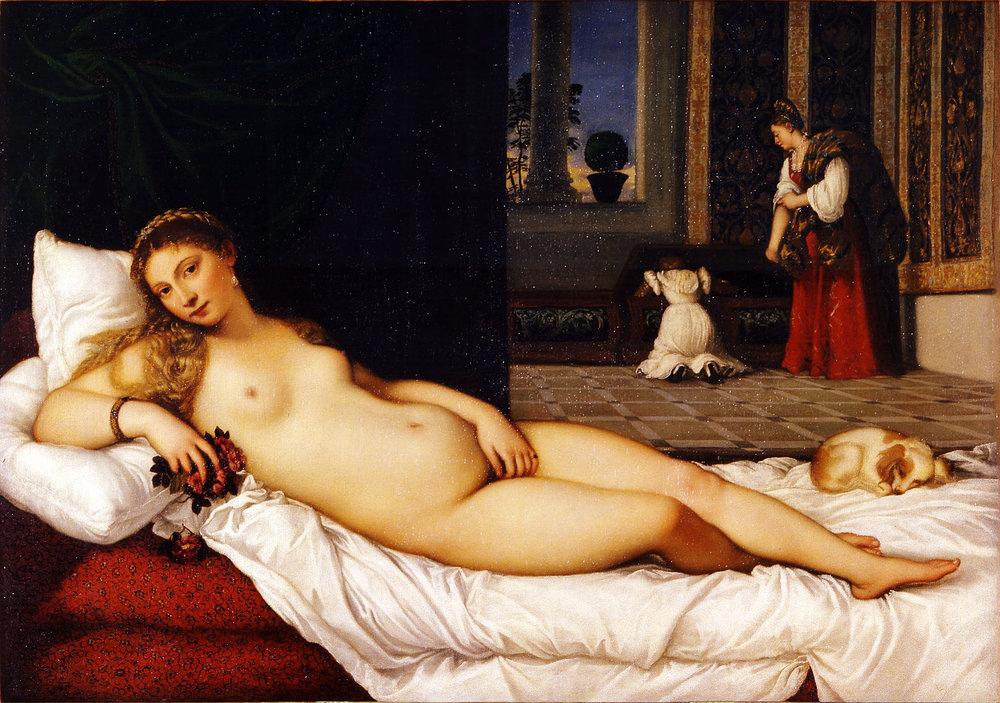 Titian -  Venus of Urbino