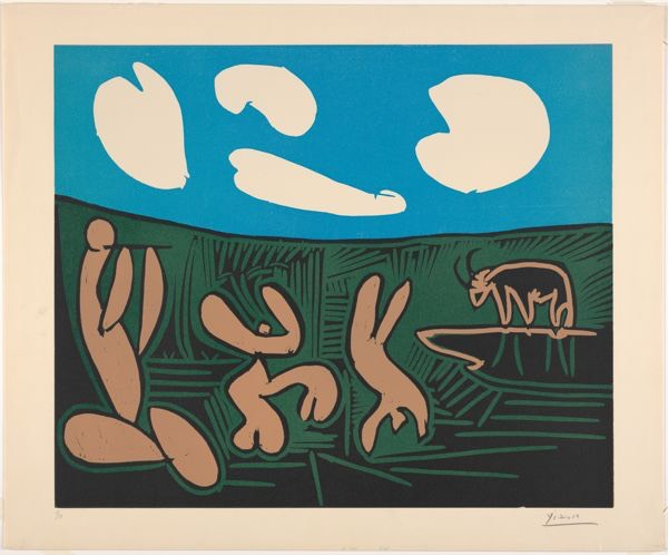 Bacchanale, Picasso (Photo: The Metropolitan Museum of Art)