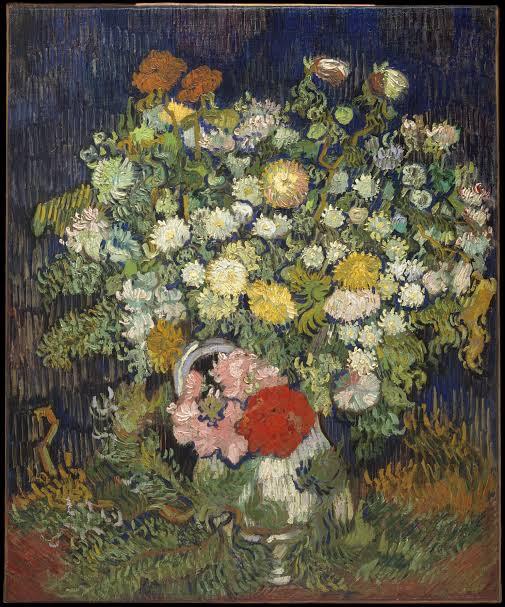 Bouquet of Flowers in a Vase, Van Gogh (Photo: The Metropolitan Museum of Art)