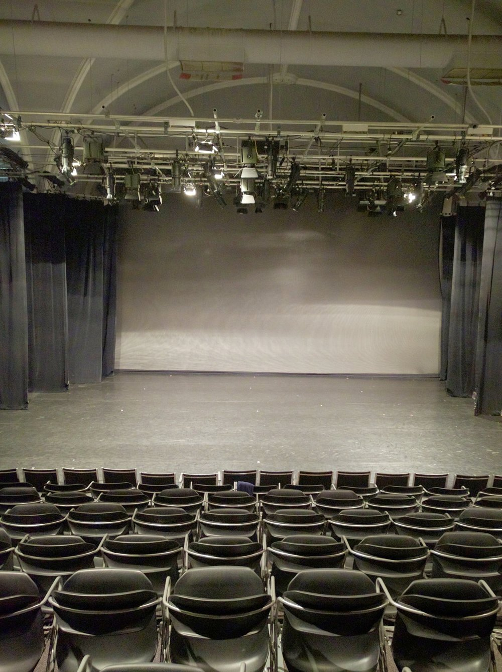 Theatre, Full Masking, with added front row