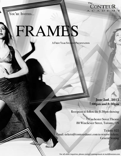 Conteur Dance presents Frames