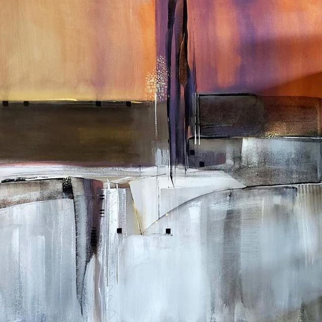 Art on Main Street is this Saturday in @oldtownlaquinta! 🎨 Feb. 9, 10am-4pm, 78100 Main St, La Quinta. Painting by Nicholas Foschi.