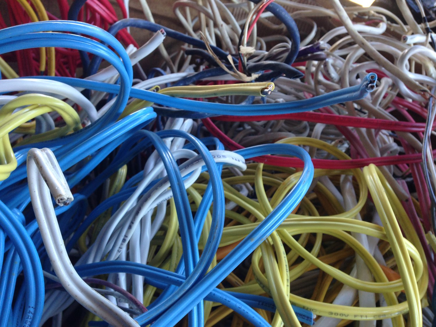 Lumex Ralmax Electrical Druid Insulated Copper Wire Burnaby Scrap Metal Recycling