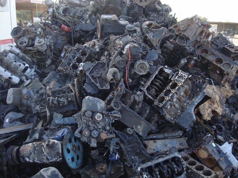 Cast Iron / Heavy Steel Engines