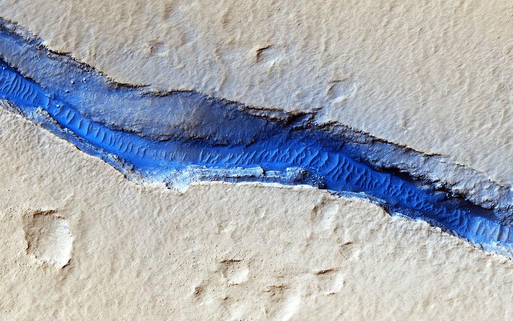 River of Sand (Credit: NASA/JPL-Caltech/Univ.Arizona)