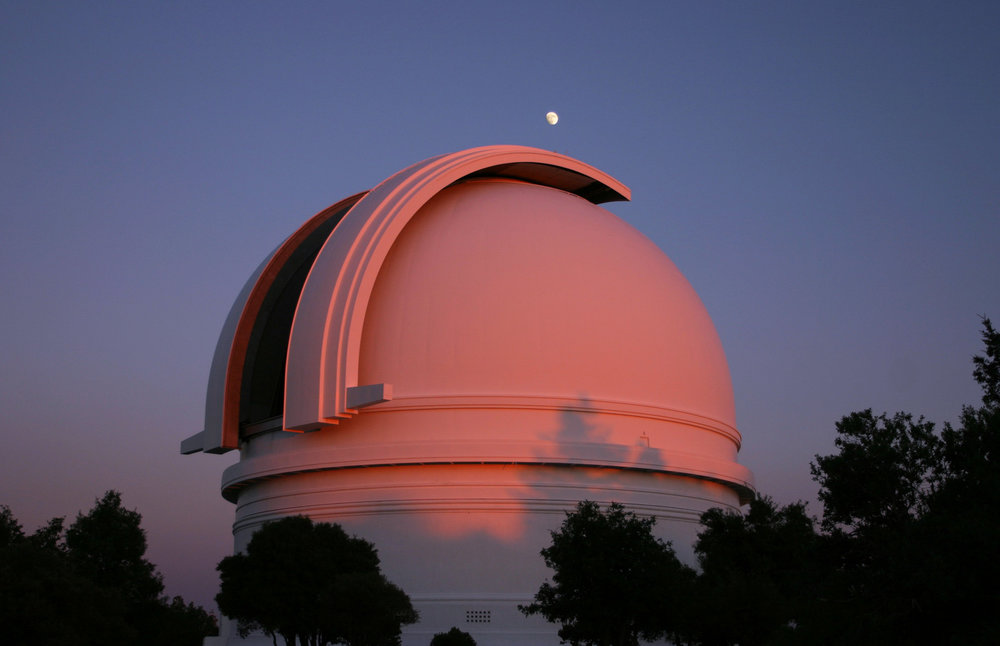 The Palomar 200 inch (5.1 meter) Telescope