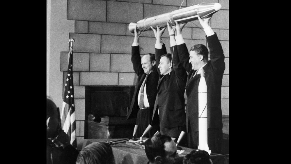 Launch of Explorer 1