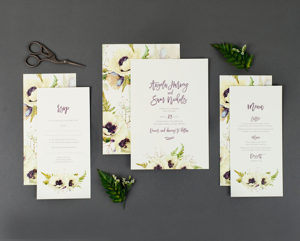 Floral-Invitation-Stationery-Design