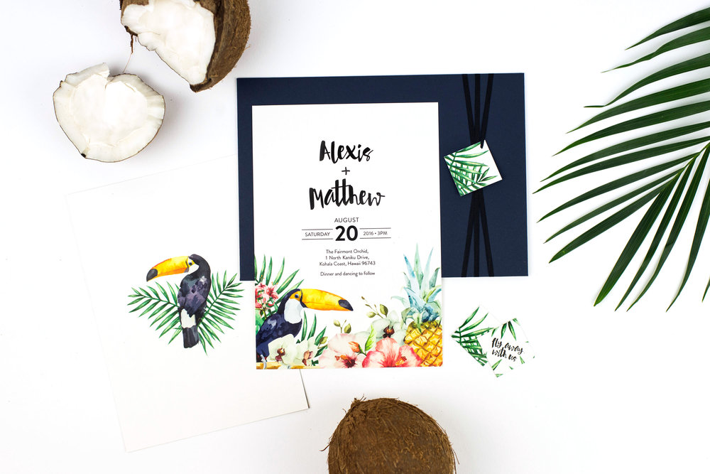 Tropical-Invitation-Design