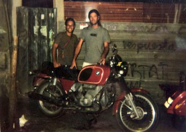 September 2002 / Back from the first trip after 1542Km to South of Spain