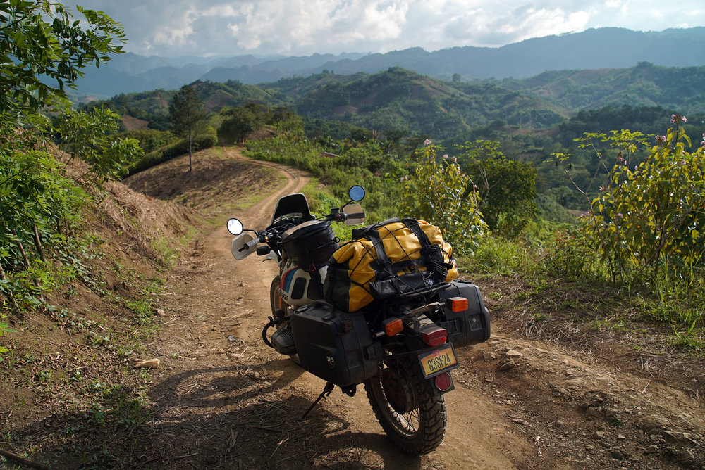 Utopia, Guatemala. Riding as light as possible and learning off-roading skills can take you to the most incredible places.