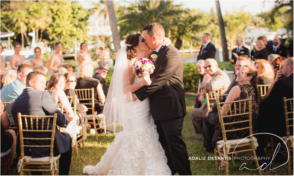 Fort Lauderdale Shady Banks Purple Wedding-47