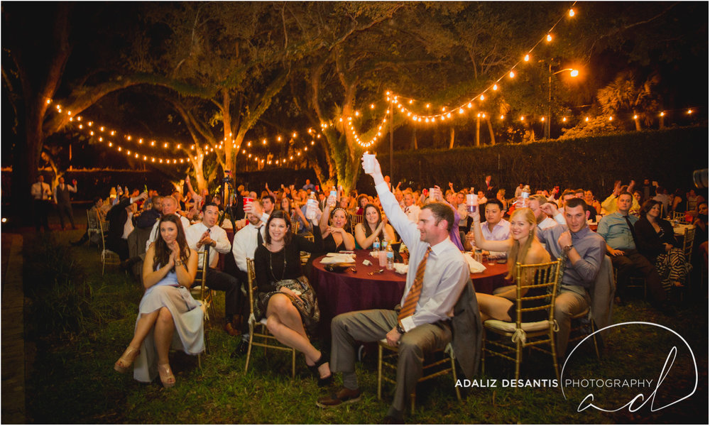 Fort Lauderdale Shady Banks Purple Wedding-66