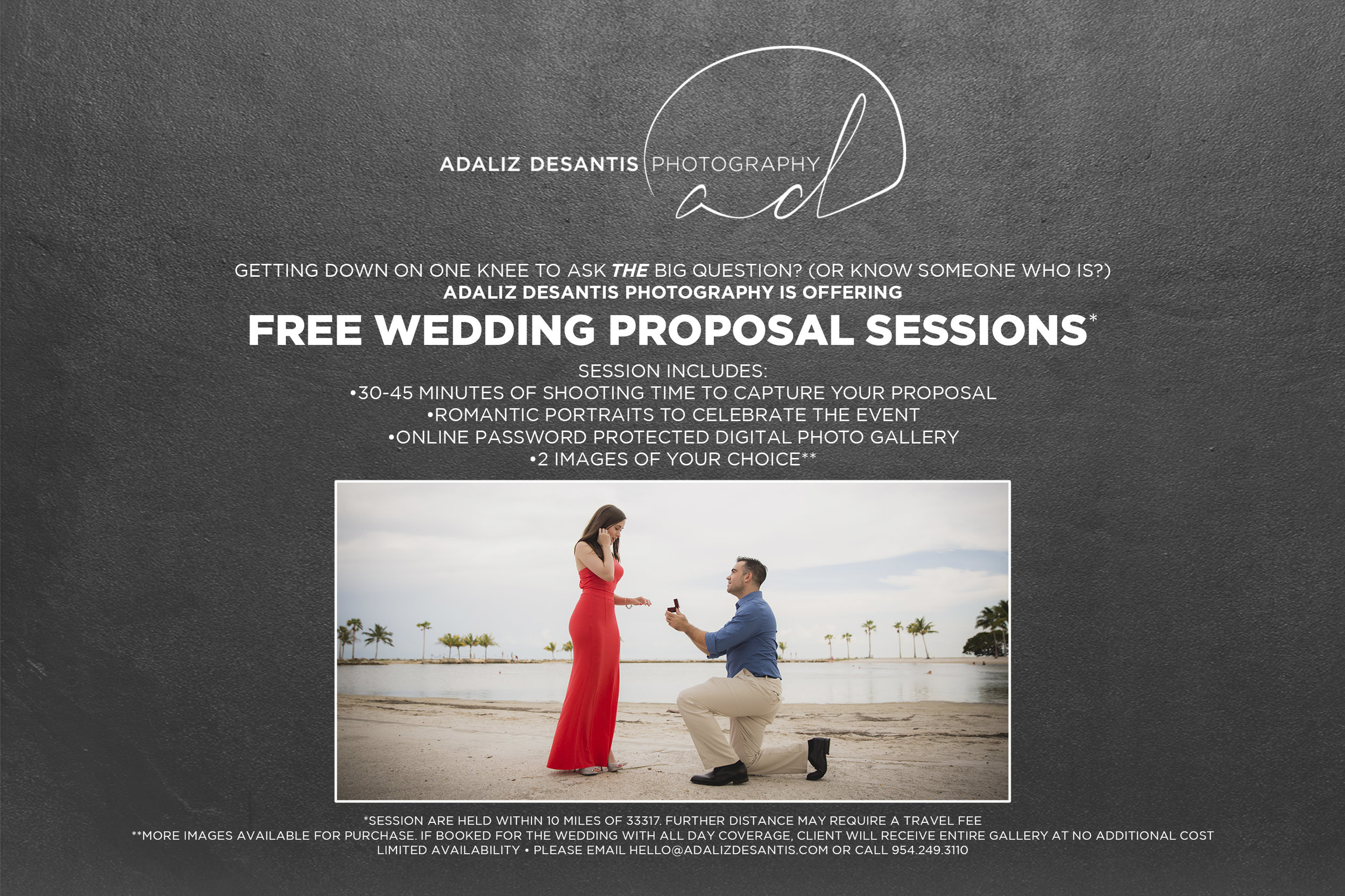 free wedding proposal session photography