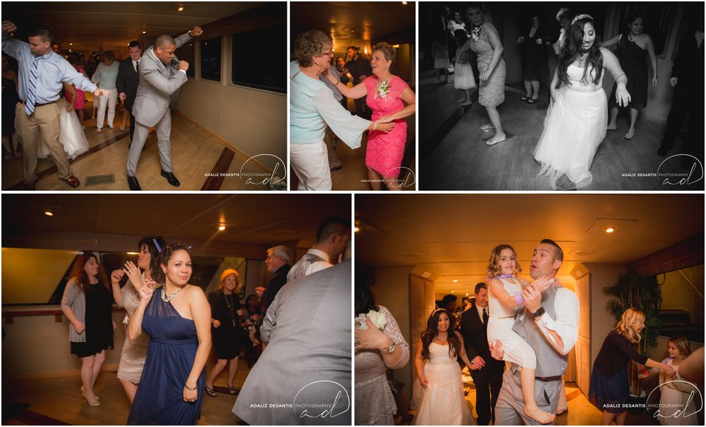 Taylor and amanda Indiana Fort Lauderdale Sun Dream yacht charter wedding 23