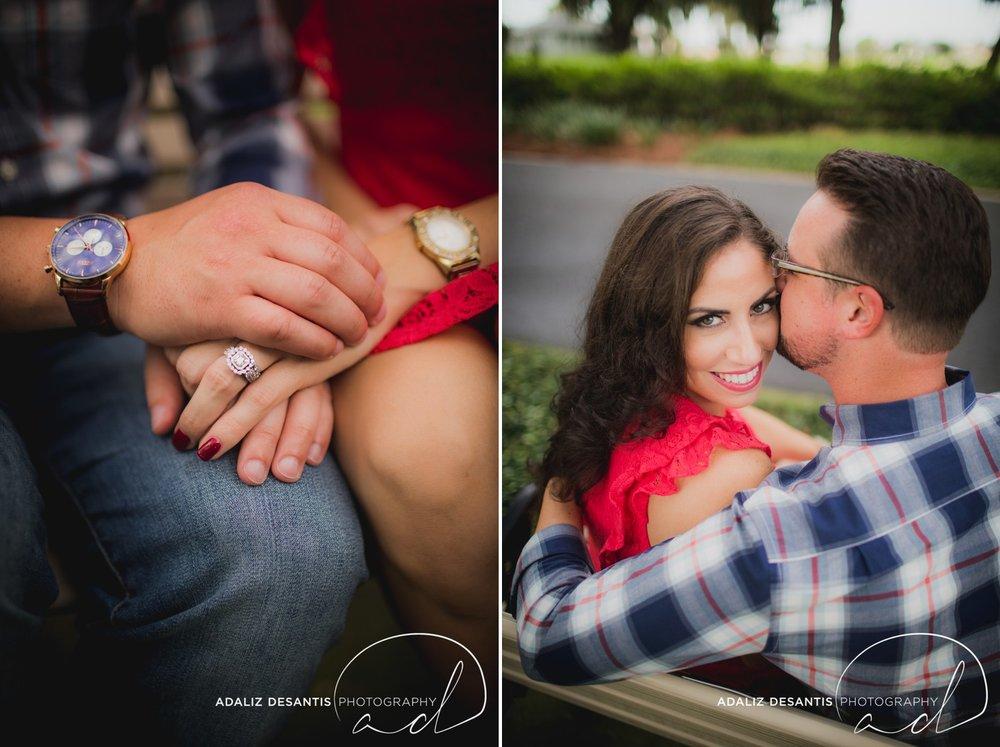 Reunion Resort Orlando Wedding Photographer Engagement Session Gold Course Christine Brandon may Meet the mays 7.jpg