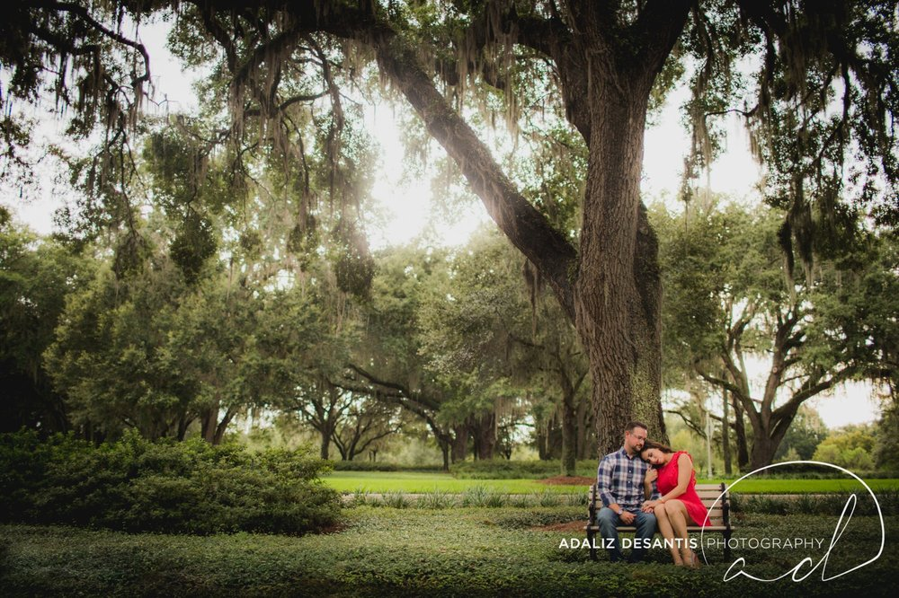 Reunion Resort Orlando Wedding Photographer Engagement Session Gold Course Christine Brandon may Meet the mays 6.jpg