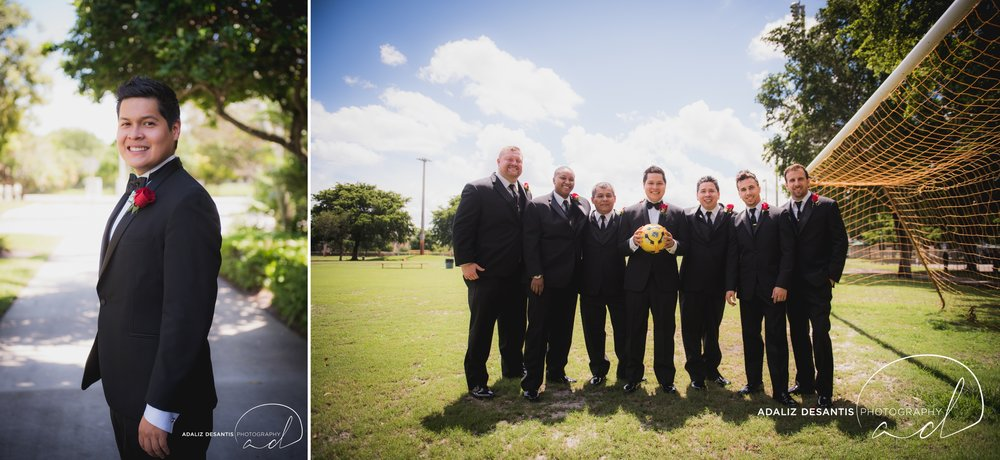 grande oaks golf club davie wedding saint david catholic church black red white south florida wedding photographer documentary photojournalistic 11.jpg