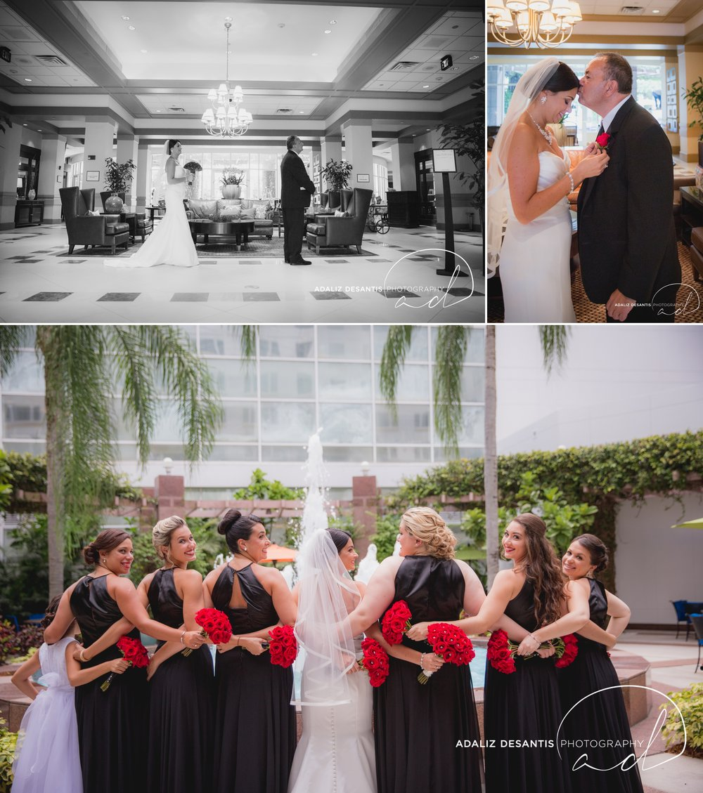 grande oaks golf club davie wedding saint david catholic church black red white south florida wedding photographer documentary photojournalistic 12.jpg