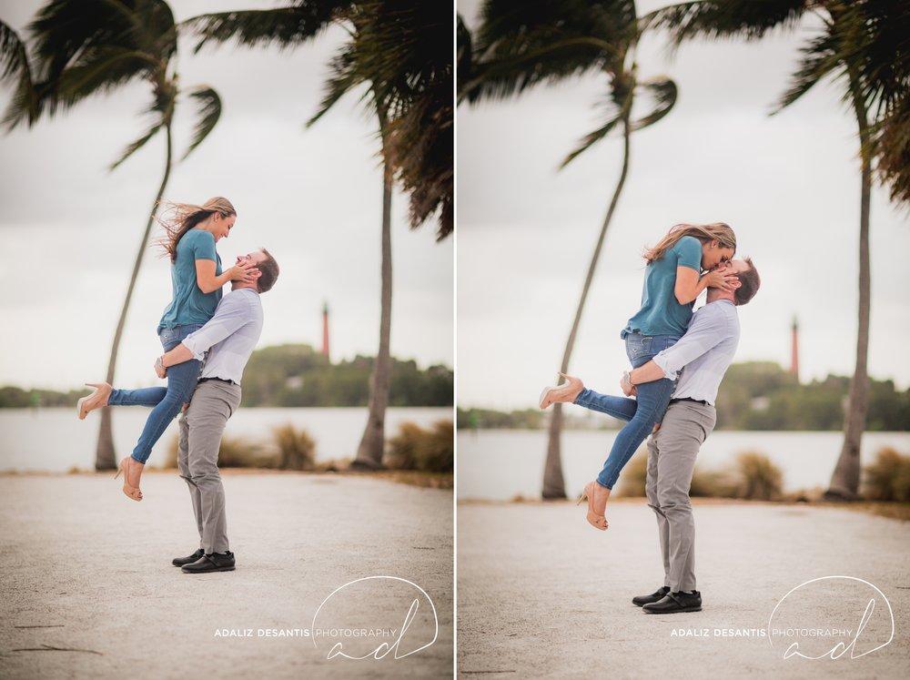 Amanda Greg Engage Engagement session lighthouse jupiter beach blowing rock preserve beach south florida wedding photographer 3.jpg