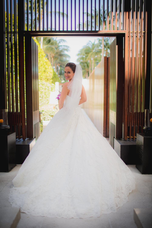 the setai miami beach wedding pronovias gown miami wedding photographer